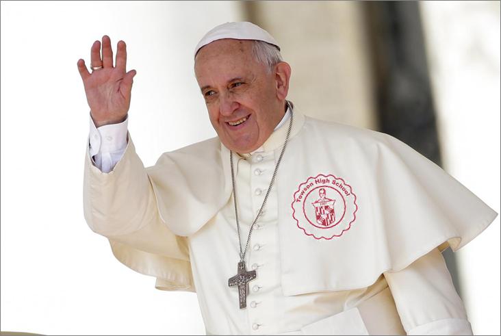 Pope Francis Visits Towson
