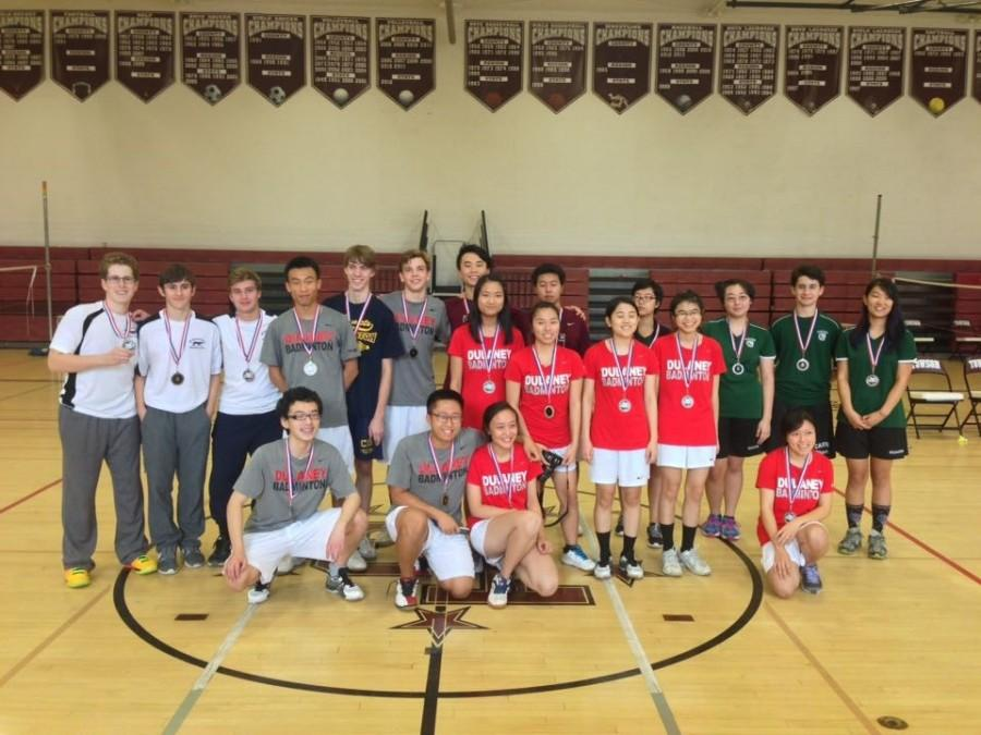 County's Best Birdie Bashers Duke it out at the County Badminton Tournament