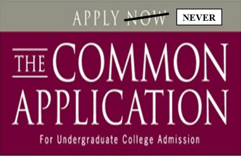Common App to be Replaced