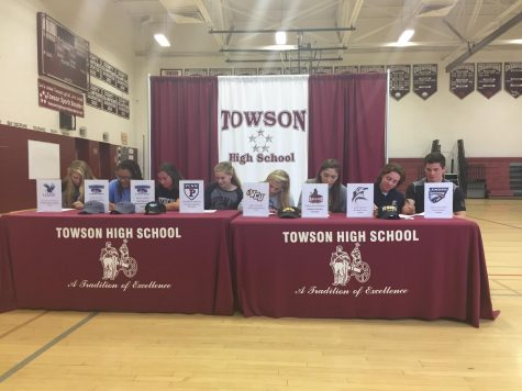 A Shining Day for Towson Athletics