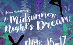 A Midsummer Night's Dream Tech Week 2018