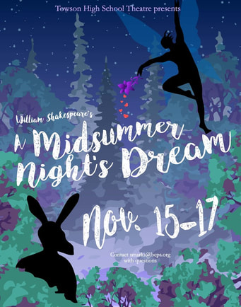 A Midsummer Night's Dream Tech Week 2018